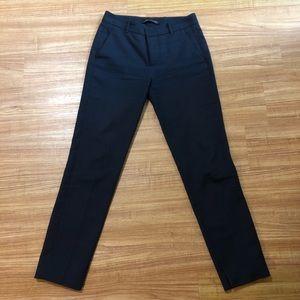 Zara Woman Straight Cut Office Pants in Black